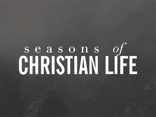 Four seasons of christian life - Infographic