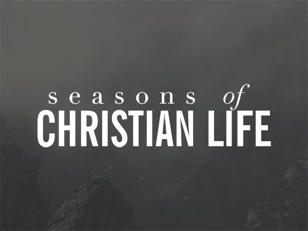 Four seasons of christian life - Infographic
